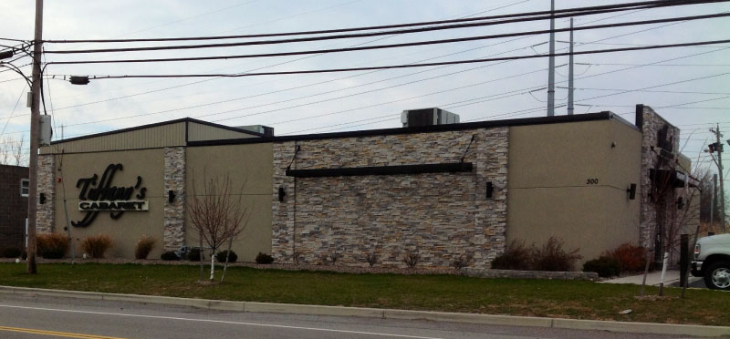 Here is an exterior picture of a new build for Tiffany's Club in Tonawanda NY