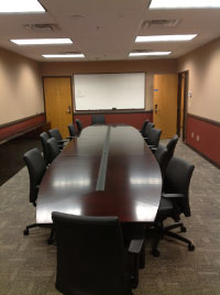 Conference room remodeled at Twin City Ambulance